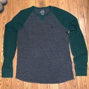 American Eagle long sleeve thermal shirt